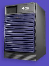 On Queue Computer - Sun Fire 4800 server specification