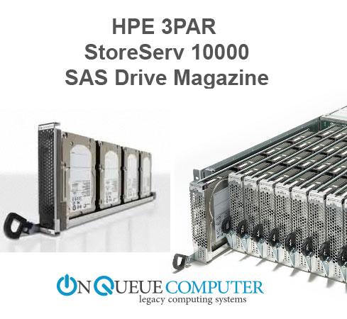 HPE 3Par StoreServ 10000 SAS Drive Magazine