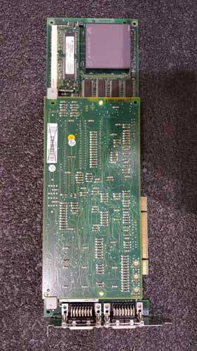 765005-839 PU514A Real-Time Accelerator (RTA) board for PCI bus (MOD systems). Including  dual channel DCN communication with two 15-pin female Dsub connectors. Installed in 3.3V or 5V PCI slot or PCI-X slot.