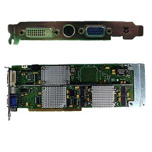 A1262A HP VISUALIZE-FX5 Pro PCI graphics card - 64MB SDRAM memory