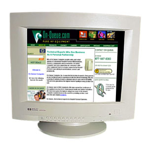 A4330A 17-inch Multi-Sync color monitor (Parchment White) - 1280 x 1024 resolution - For the Northern Hemisphere
