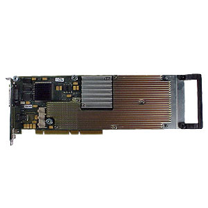 A4552A HP VISUALIZE-fx2 graphic accelerator board - 24/8 bit accelerated 3D solids - Has EVC video connector - Requires HP-UX 10.20 with 'Additional Core Enhancements' (ACE)