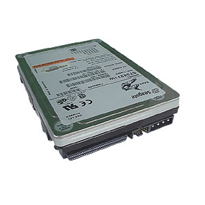 A4569A 4.0GB Ultra Wide Single-Ended SCSI hard drive - 7,200 RPM, 3.5-inch form factor, 1.0-inch high
