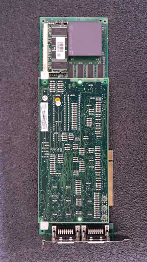 EXC3BSE013062R1  PU514 Real-Time Accelerator (RTA) board for PCI bus (MOD systems).  Including dual channel DCN 15-pin female Dsub connectors and installed in a 5V PCI slot.